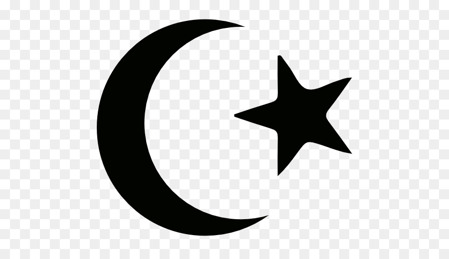Star And Crescent Symbols Of Islam Muslim Png Download 512512