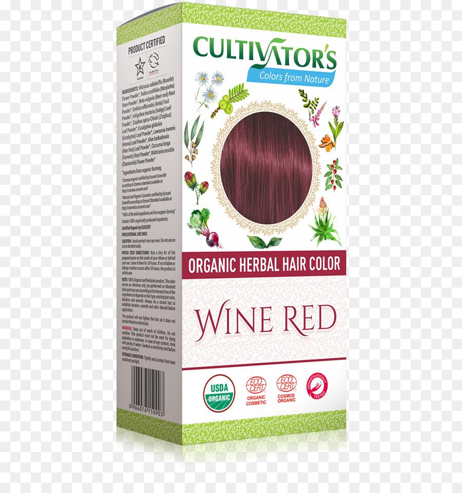 Makanan Organik Henna Pewarna Rambut Kultivator Manusia Warna Rambut