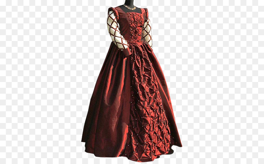 Renaissance Ball gown Dress Clothing - medieval png download - 555 ...