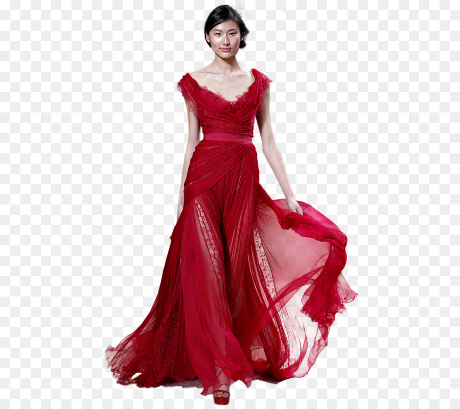 Haute couture Dress Evening gown Fashion - formal wear women png ...