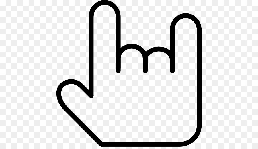 Symbol Sign Of The Horns Heavy Metal Computer Icons Rock And Roll