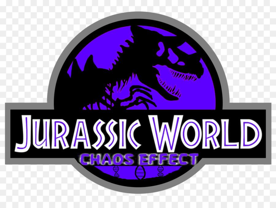 Jurassic Park Logo Velociraptor Youtube Jurassic Park Png Download
