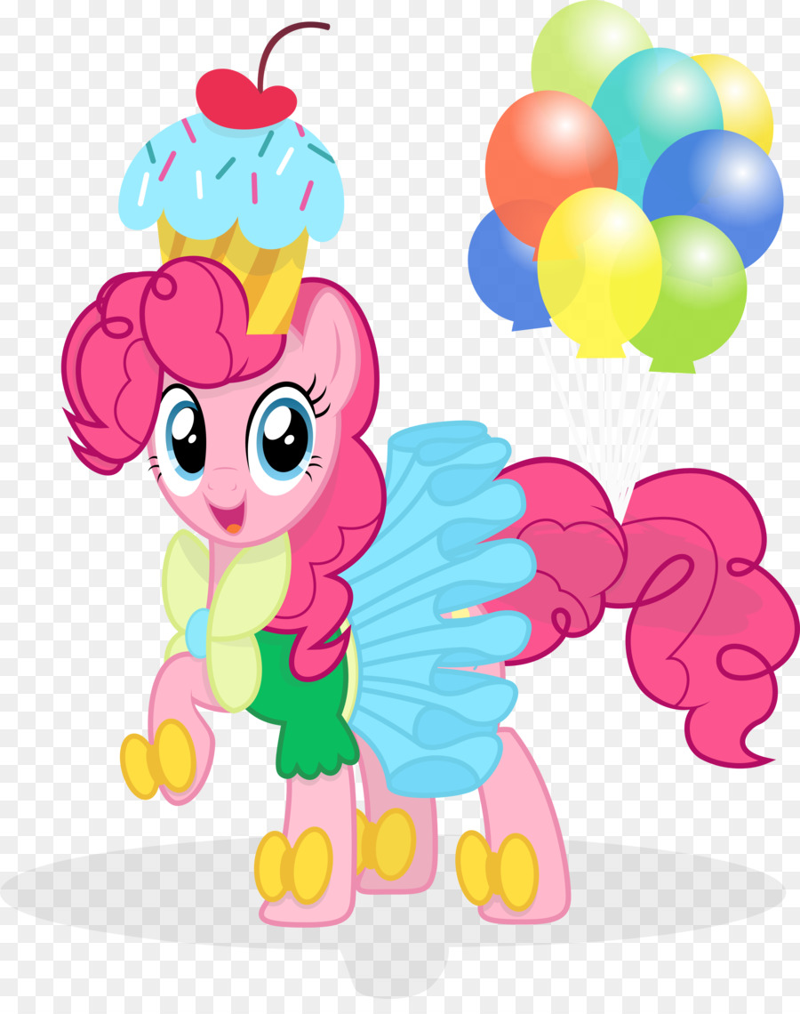 Pinkie Pie Pony Horse Party Clip Art Wear Vector Download Luggage Tag