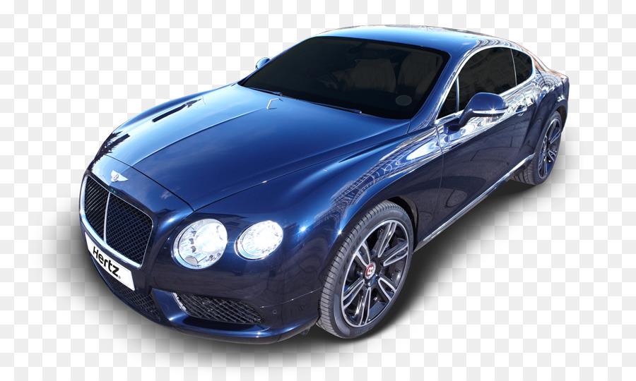 Sports car Bentley Continental GT Luxury vehicle - bentley png ...