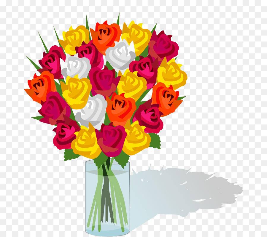 Flower bouquet Cut flowers Clip art - bouquet clipart png download ...