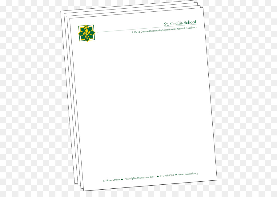 paper area material rectangle office letterhead png download 530