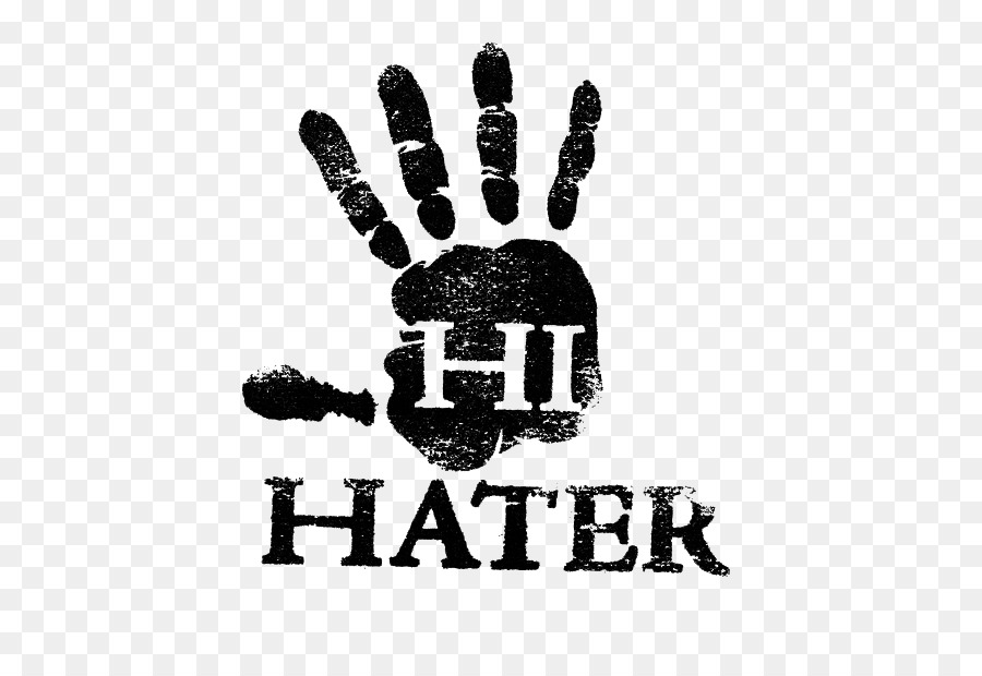 Hi hater t shirt decal printing hi word