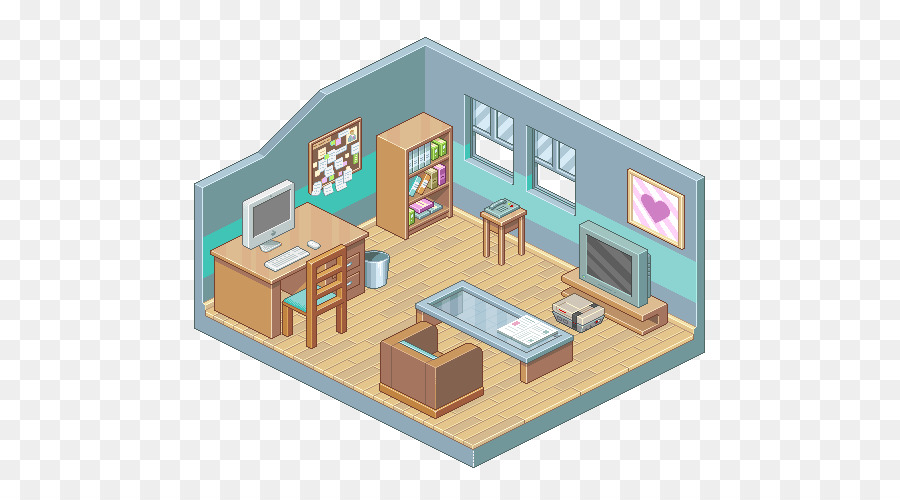 Isometric projection Living room Drawing Bedroom - rooms & Isometric projection Living room Drawing Bedroom - rooms png ...