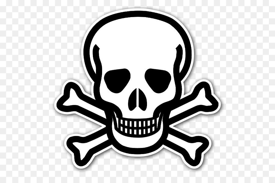 Skull and Bones Skull and crossbones Human skull symbolism - thick ...