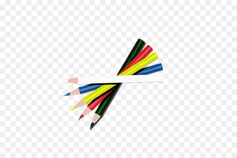 Lápiz de color Clip art - lápices de colores png dibujo ...
