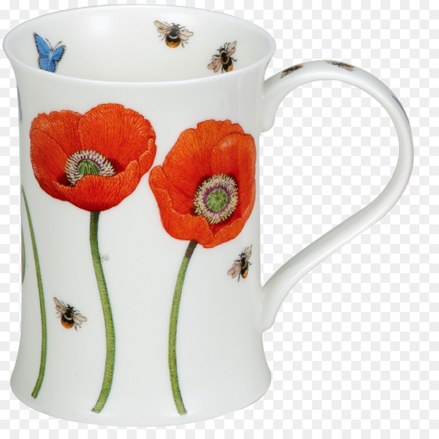 Mug Coffee cup Ceramic Flower Tableware - poppy  sc 1 st  PNG Download & Mug Coffee cup Ceramic Flower Tableware - poppy png download - 1020 ...