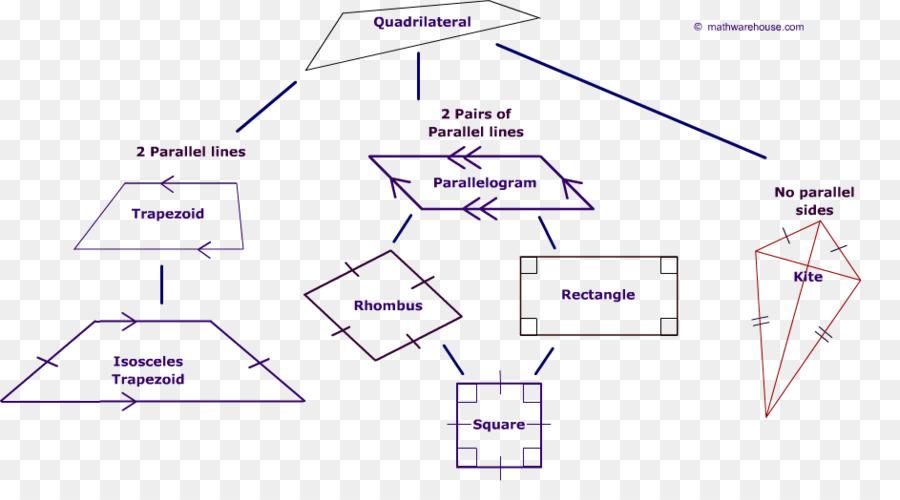 Quadrilateral Parallelogram Internal Angle Polygon Shape All Kinds