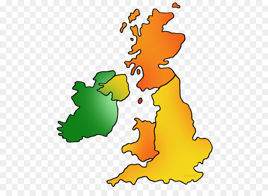 Great Britain Map of UK and Ireland British Isles Blank map - great ...