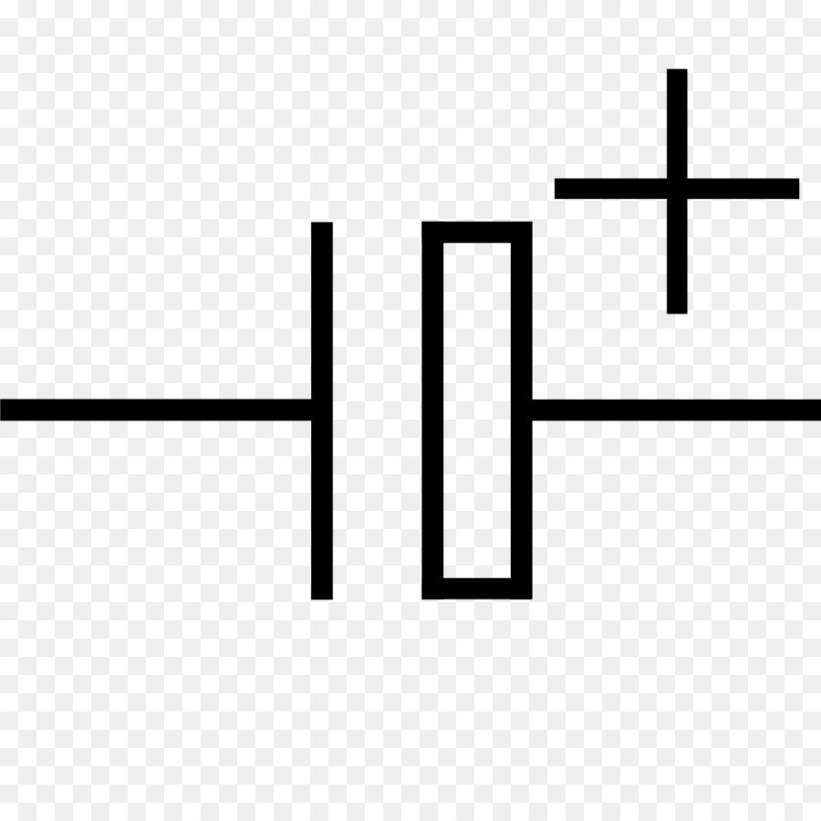 Electronic symbol Electrolytic capacitor Electronics Electronic ...