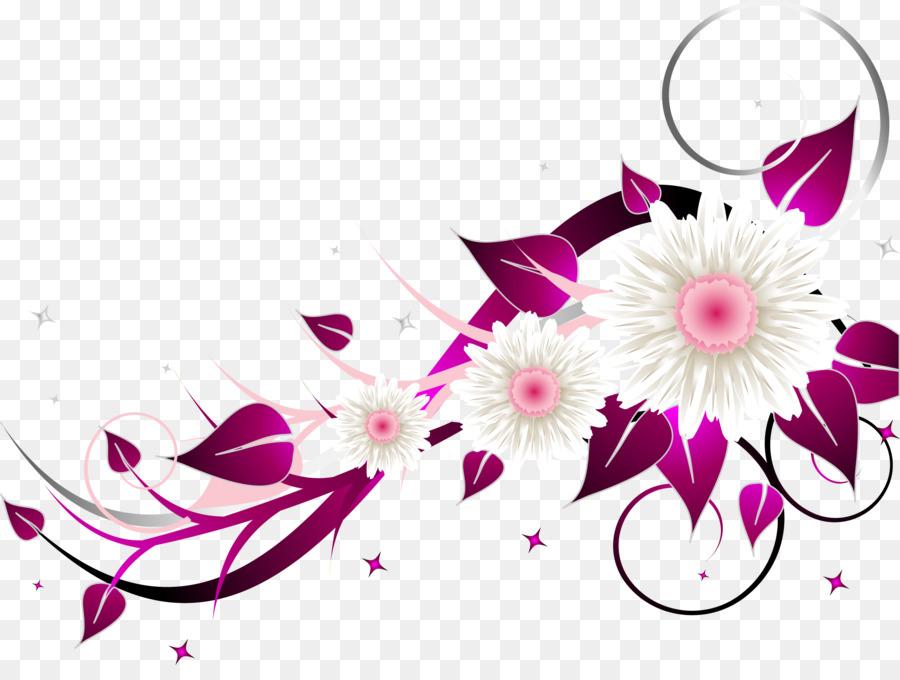 Floral Wedding Invitation Background Png Download 2487 1837 Free
