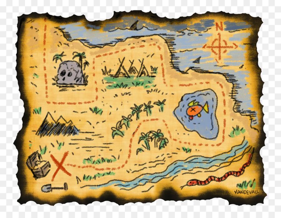 Schatz Karte Welt Karte Kind Piraten Karte Png Herunterladen