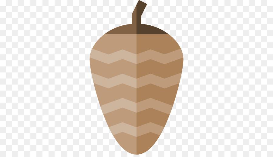 Los Alimentos De Color Marrón Patrón - piña de pino png dibujo ...