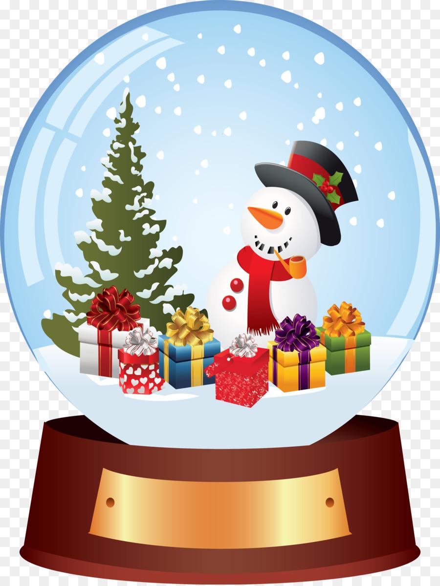 santa claus christmas tree snow globes christmas ornament snowman