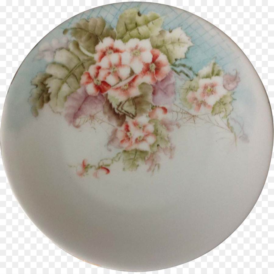 Tableware Platter Ceramic Plate Saucer - hand-painted flower material & Tableware Platter Ceramic Plate Saucer - hand-painted flower ...