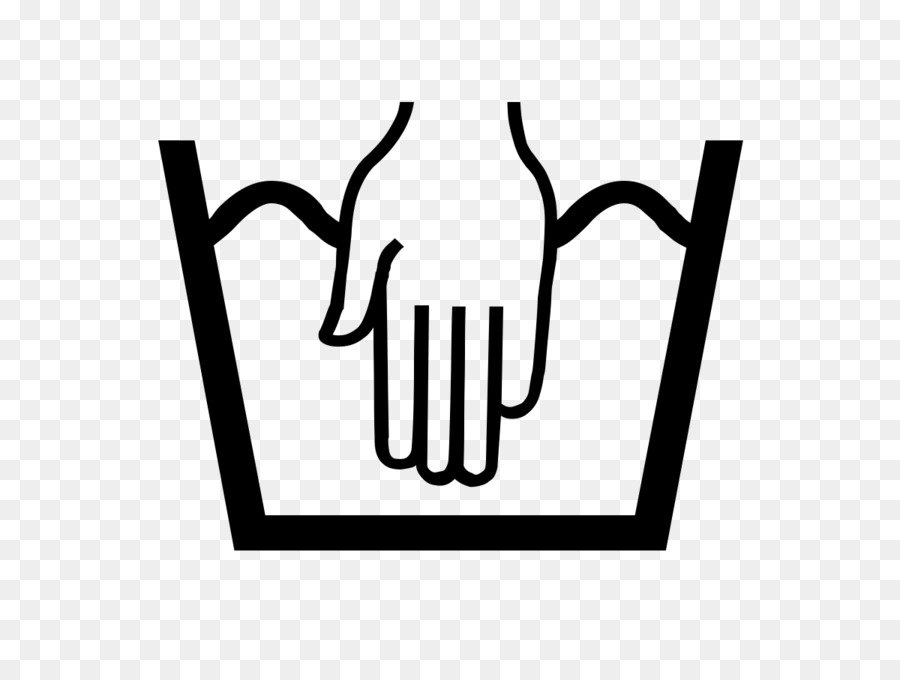 Bleach Laundry Symbol Label Hand Washing Laundry Png Download