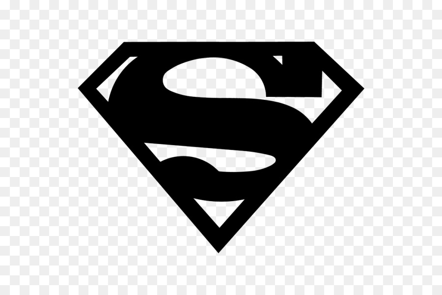 Superman Logo Decal Art