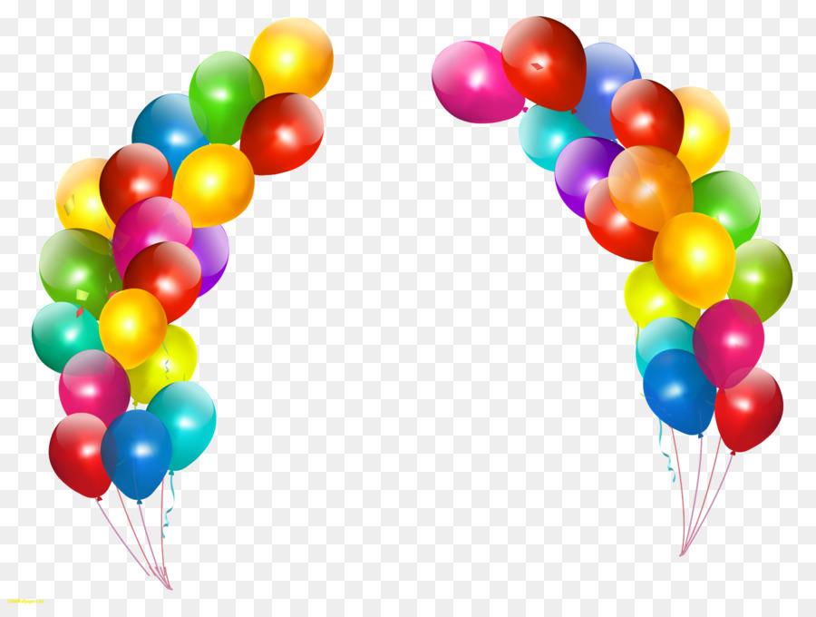 Balloon Birthday Party Clip Art