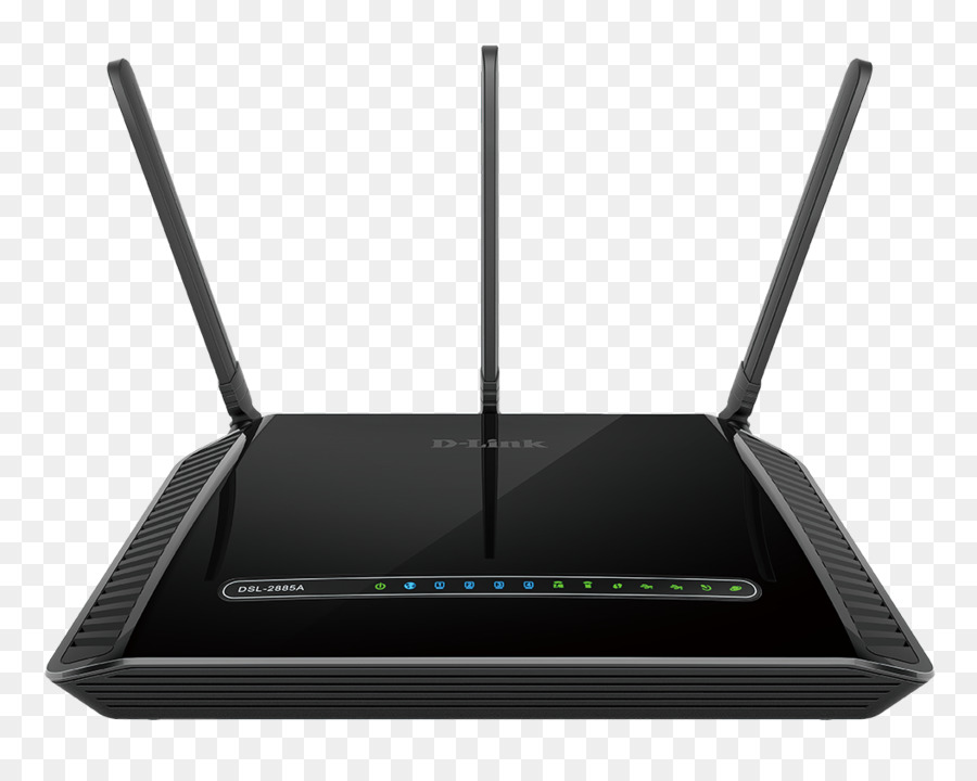 DSL modem Digital subscriber line Router D-Link Gigabit Ethernet ...