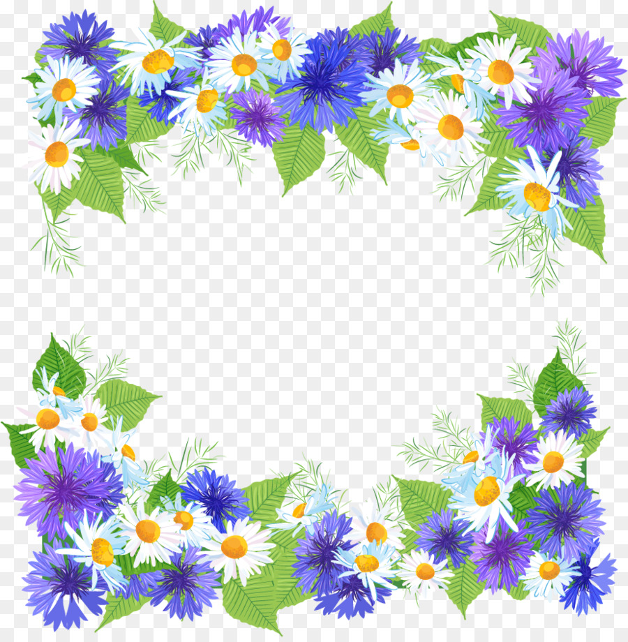 flower picture frames desktop wallpaper clip art - pretty flowers