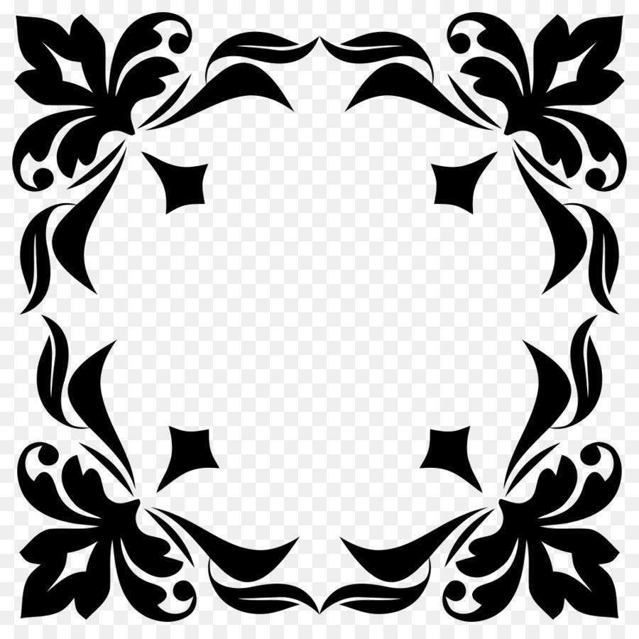 Ornament Floral Design Motif Ornamnetal Vector Png Download 1000