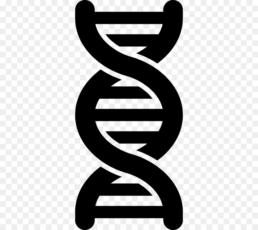 DNA Computer Icons Genetics Clip Art