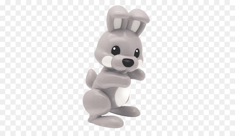 De Acción Y Juguetes De Figuras De Niño Jugar Juego - gris conejo ...