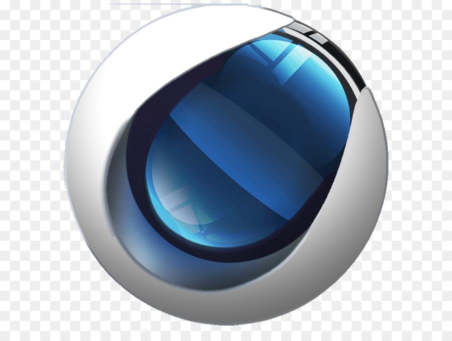 cinema 4d logo 3d computer graphics animation - sphere vector png download - 662 662