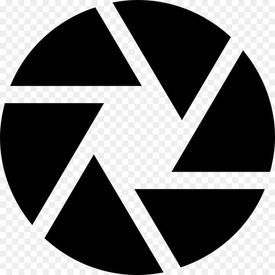 Abertura Do Diafragma Símbolo De ícones Do Computador Abertura Do