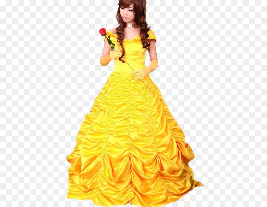 Belle Halloween costume Dress Cosplay - belle png download - 700*700 ...