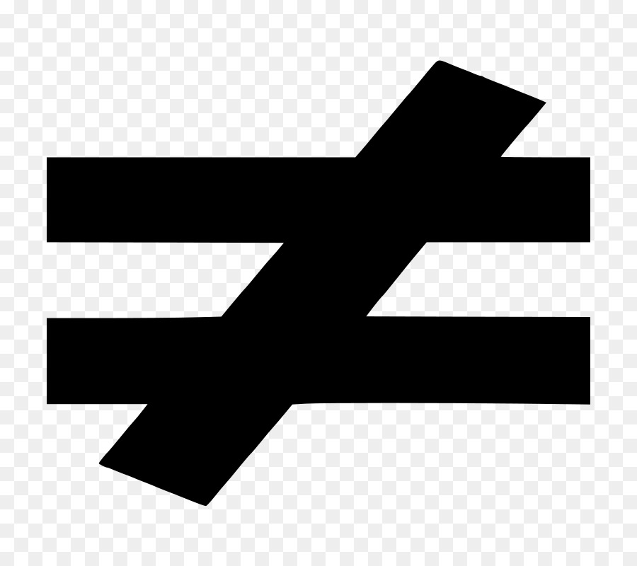 Equals Sign Equality Symbol Mathematical Notation Clip Art Fashion