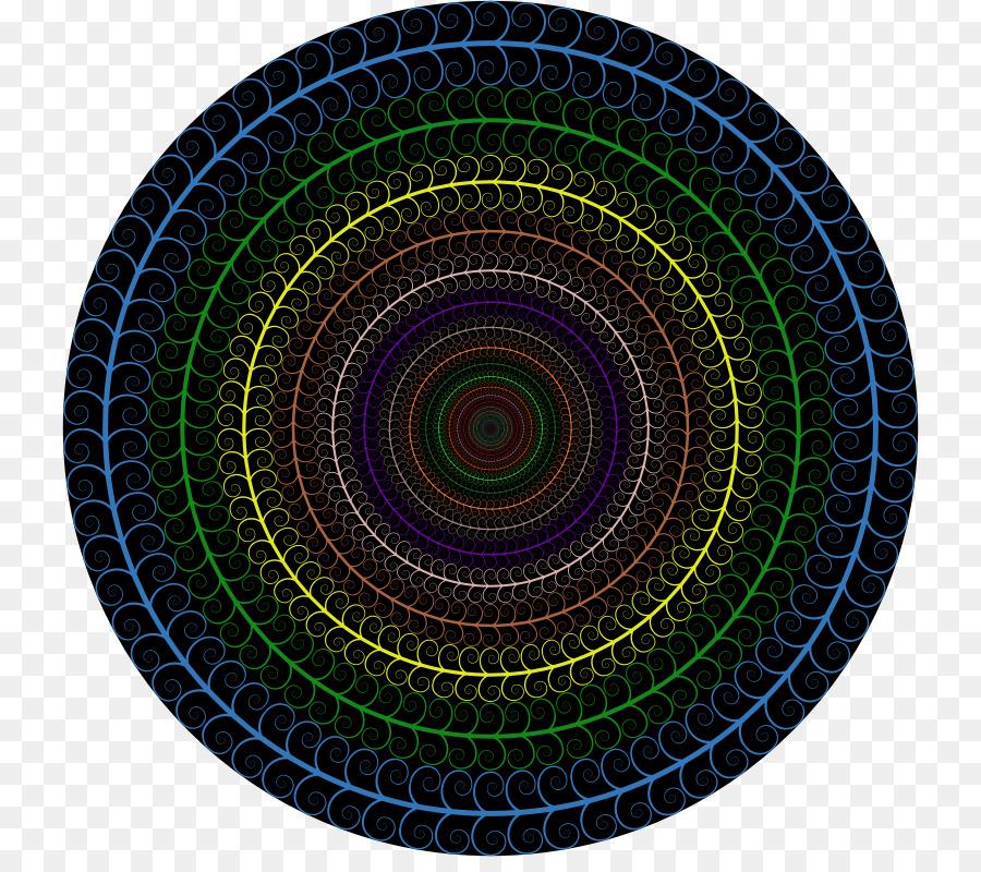 Círculo de la Espiral de la bañera de Hidromasaje Clip art - marco ...
