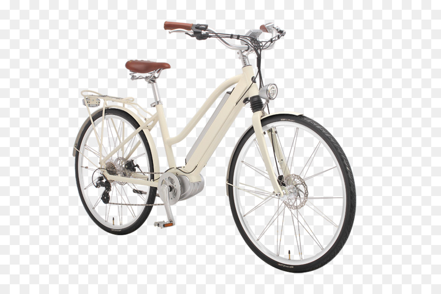 Electric bicycle Cycling Bicycle Frames Pedelec - white movement png ...