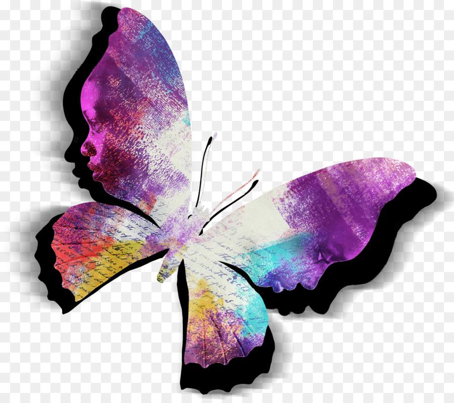 El Color Púrpura Violeta Magenta - el color de la mariposa png ...
