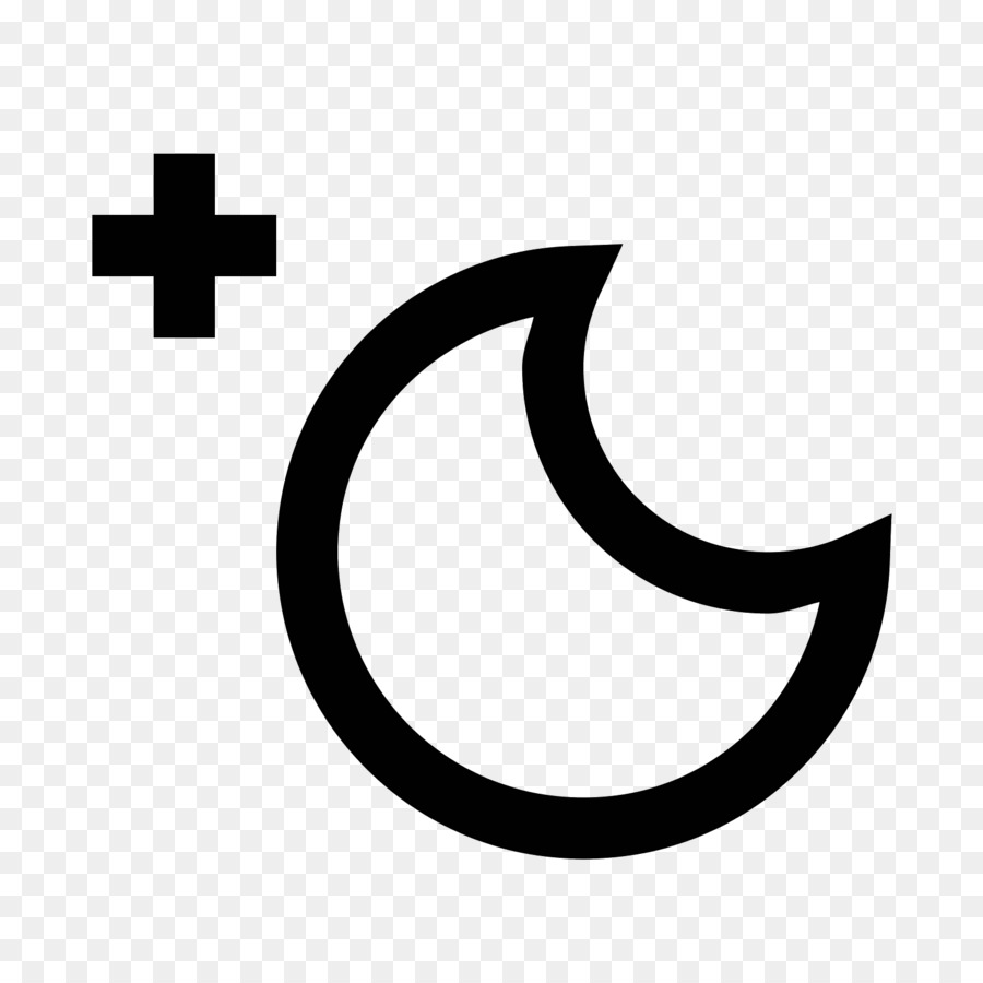 Symbol Computer Icons Weather Bright Moon Png Download 16001600