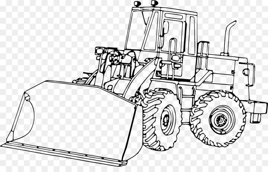 John Deere Tractor Cargador de Clip art - las piezas pequeñas png ...