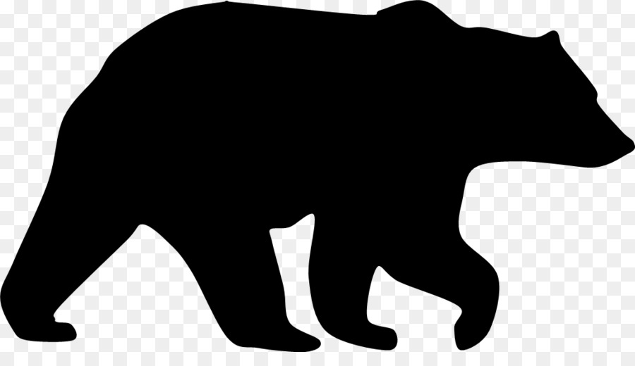 american black bear grizzly bear silhouette clip art beer logo rh kisspng com grizzly bear clip art images grizzly bear clip art black and white