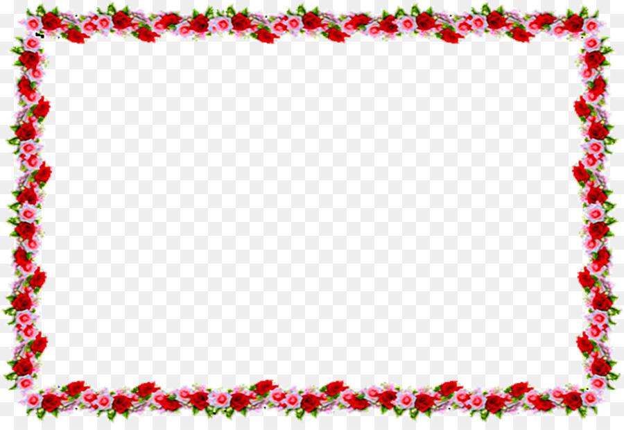 Bordes y Marcos de la Rosa Clip art - hermoso diseño Formatos De ...