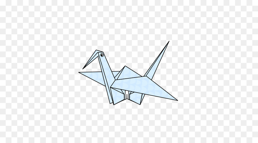 Origami Crane Honda Knot Paper Craft Origami Crane Png Download