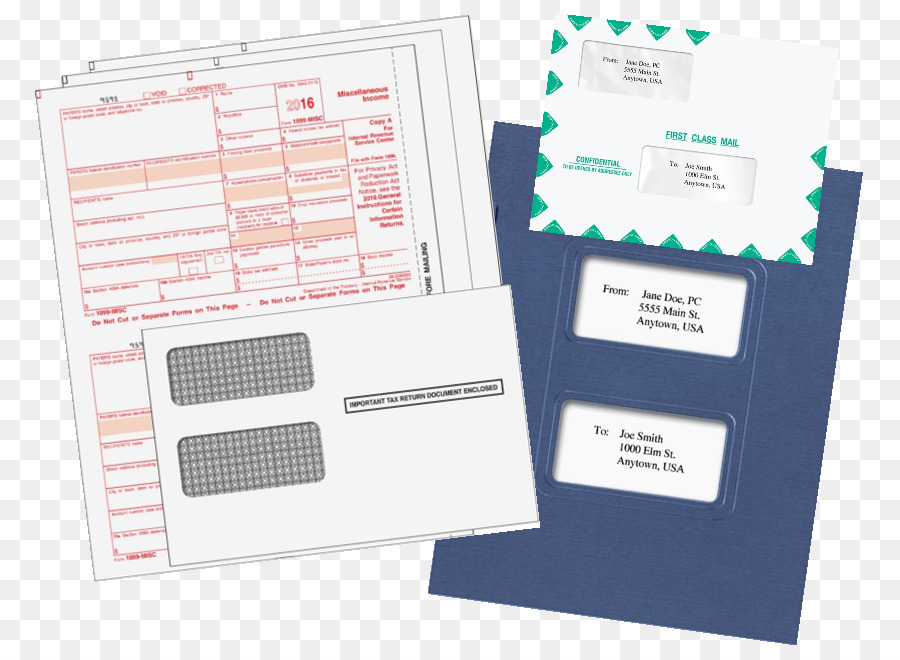 Paper Form W 2 Irs Tax Forms New Year Red Envelopes Png Download