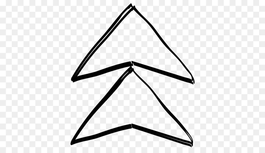 Flecha De Dibujo Triángulo Línea - funky Formatos De Archivo De ...