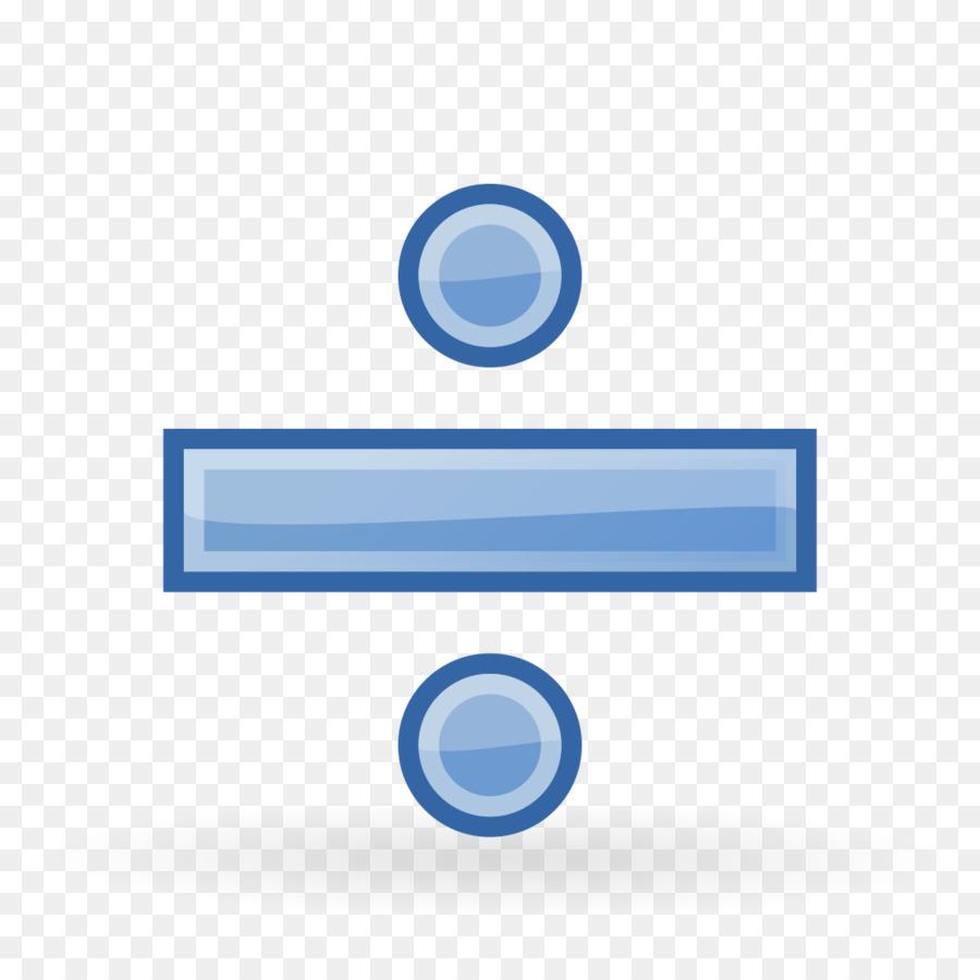 Basic Math Obelus Division Mathematics Symbol Divided Png Download