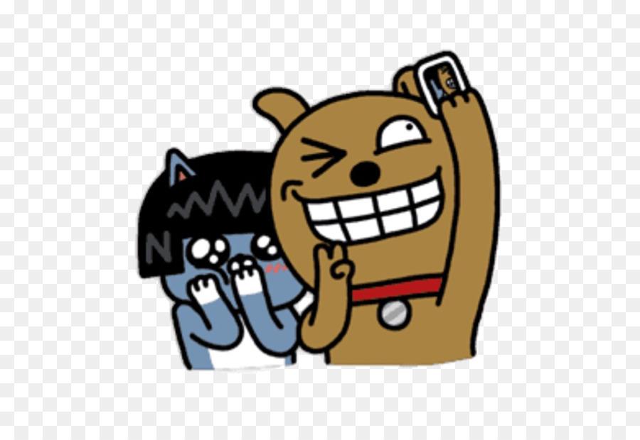 Kakaotalk Kakao Friends Daum Line Emoticons Png Download 640618