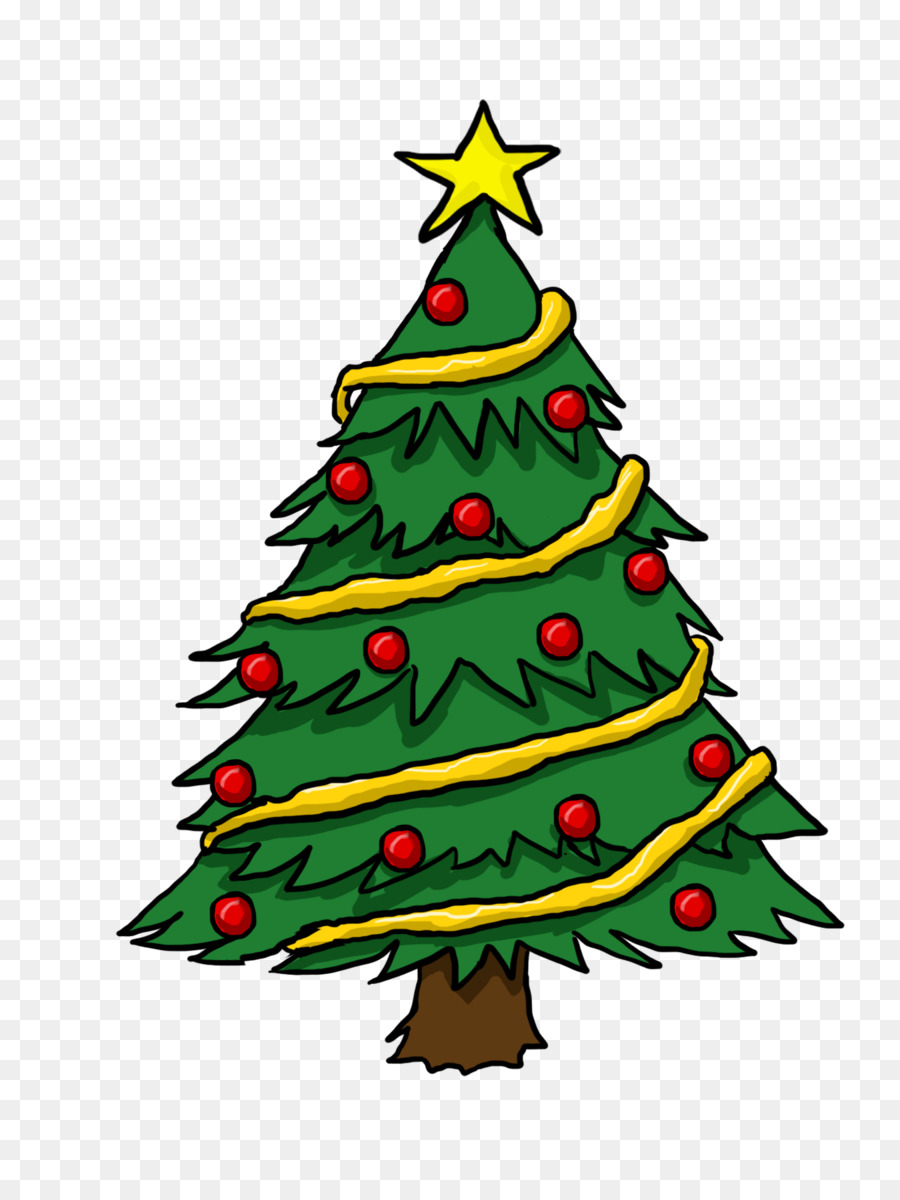 Christmas tree Gift Clip art - cartoon christmas tree png download - 1350*1800 - Free Transparent Christmas png Download.