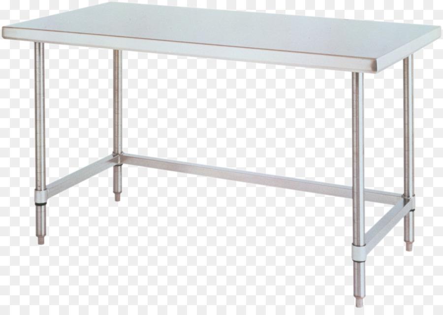 Mesa de Cocina de acero Inoxidable mesa de trabajo - marco inferior ...