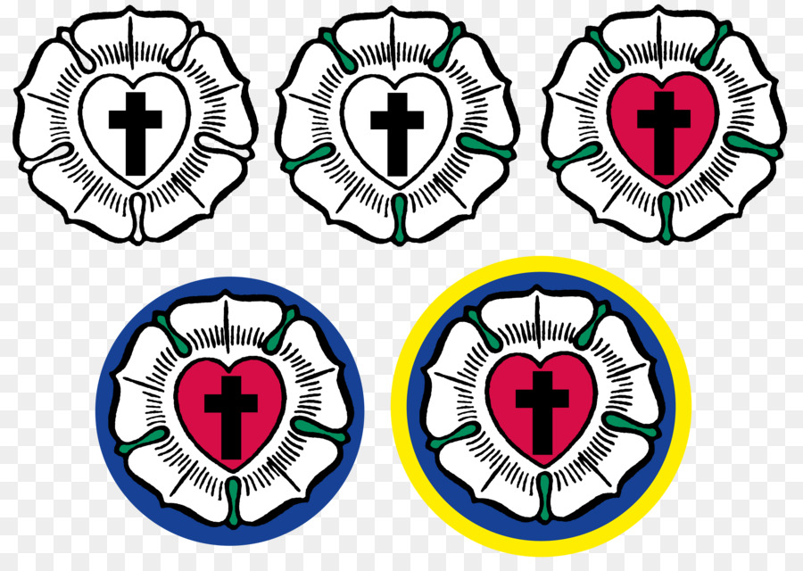 Reformation Luther Rose Lutheranism Symbol Wittenberg Feuer Png